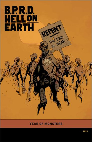 B.P.R.D. Hell on Earth: The Devil's Engine 3-B by Dark Horse