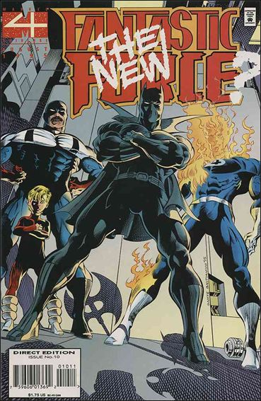 Fantastic Force (1994) 10-A by Marvel
