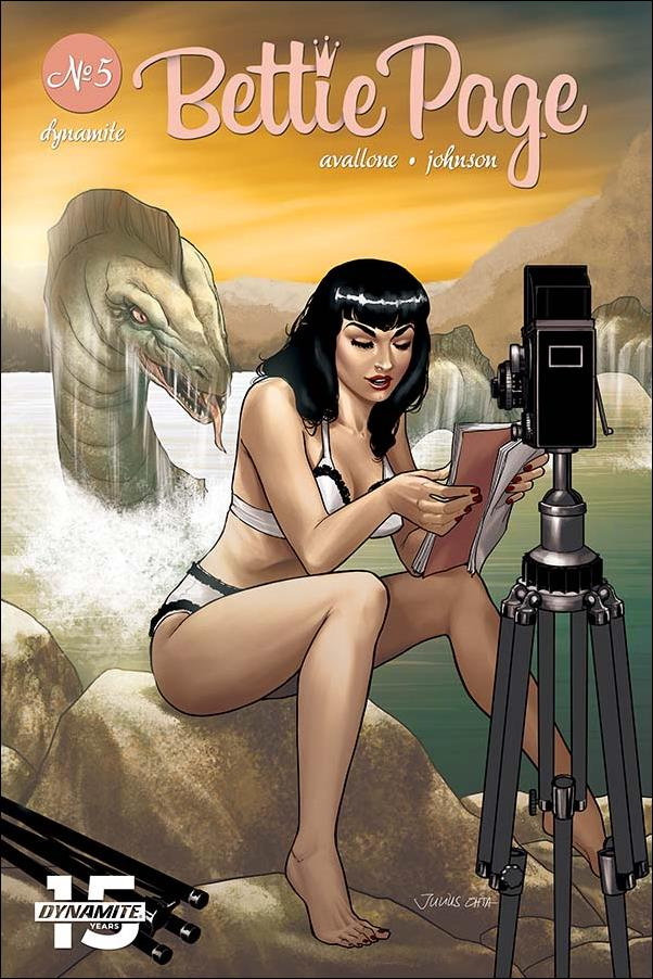 Bettie Page (2018) 5-D by Dynamite Entertainment
