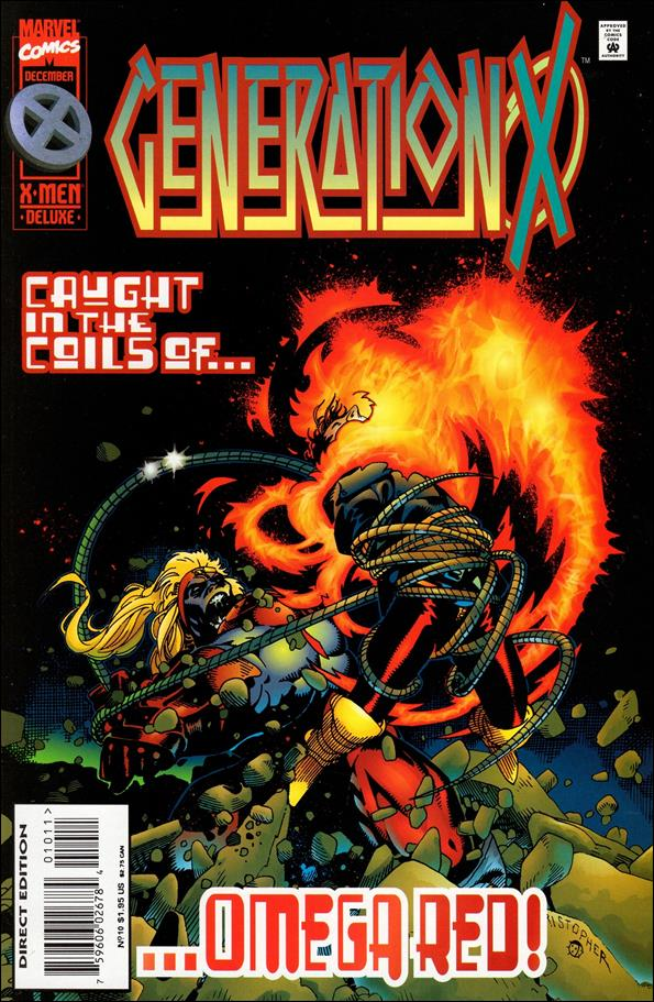 Generation X (1994) 10-A by Marvel