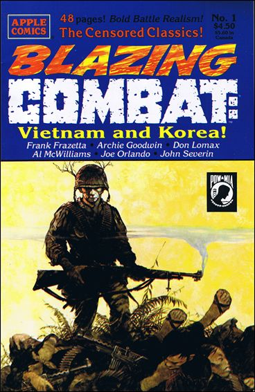 Blazing Combat 1-A by Apple