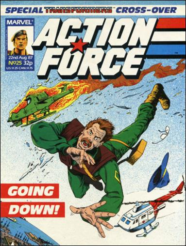 Action Force (UK) 25-A by Marvel UK