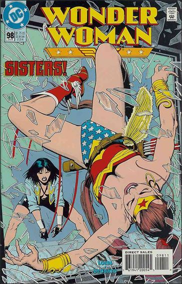 Wonder Woman (1987) 98-A by DC