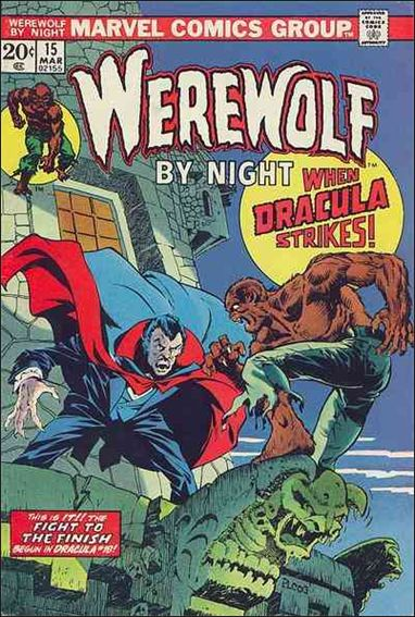 Werewolf by Night (1972) 15-A by Marvel