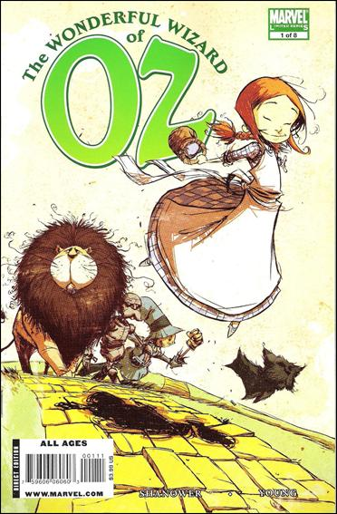 Wonderful Wizard of Oz 1-A by Marvel