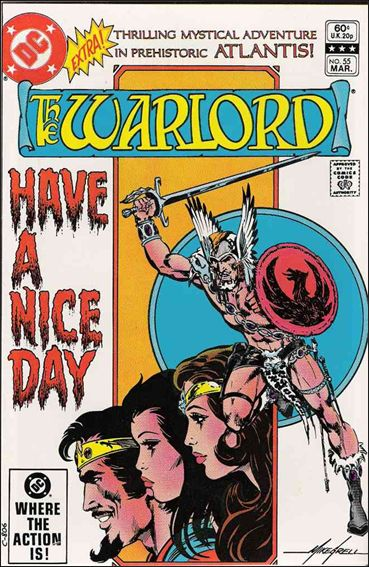 Warlord (1976) 55-A by DC