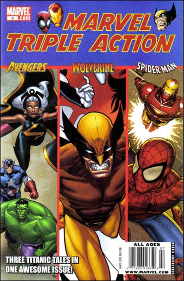 Marvel Triple Action (2009) 3-A by Marvel