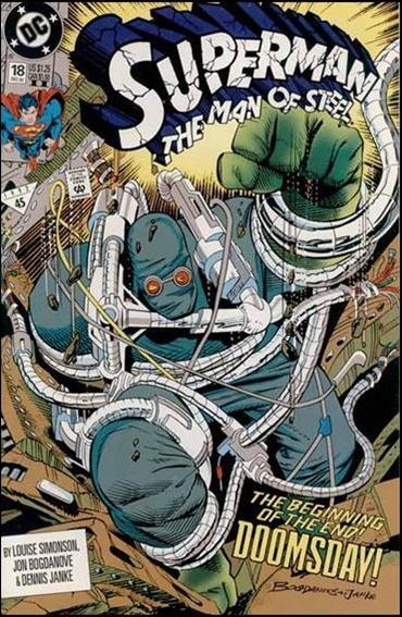 Superman: The Man of Steel 18-B