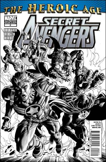 Secret Avengers (2010) 2-D by Marvel