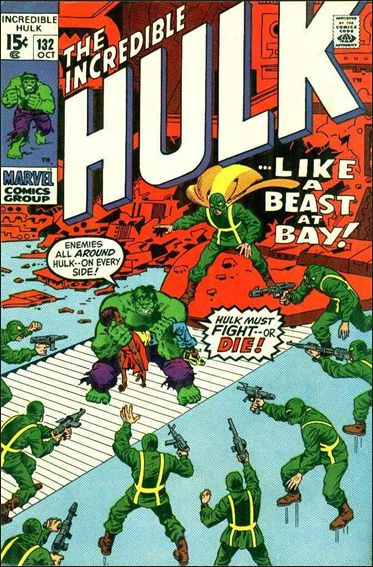 Incredible Hulk (1968) 132-A by Marvel