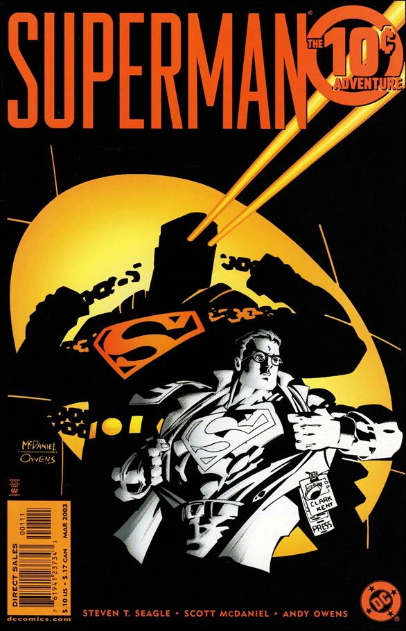 Superman 10-Cent Adventure 1-A by DC