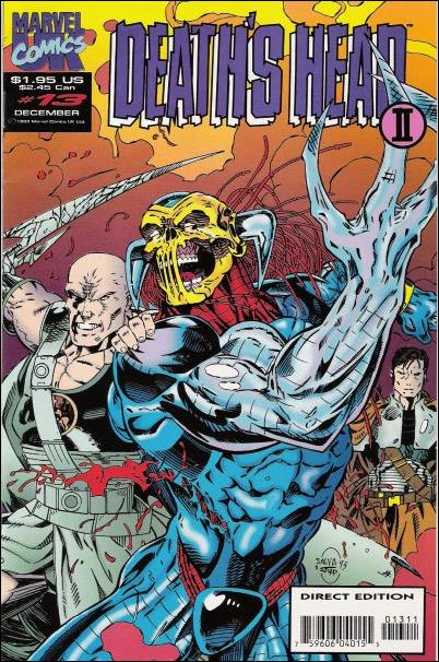 Death's Head II (UK) (1992/12) 13-A by Marvel UK