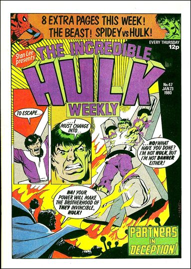 Hulk Comic (UK) 47-A by Marvel UK