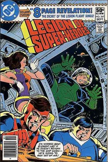 Legion of Super-Heroes (1980) 267-A by DC