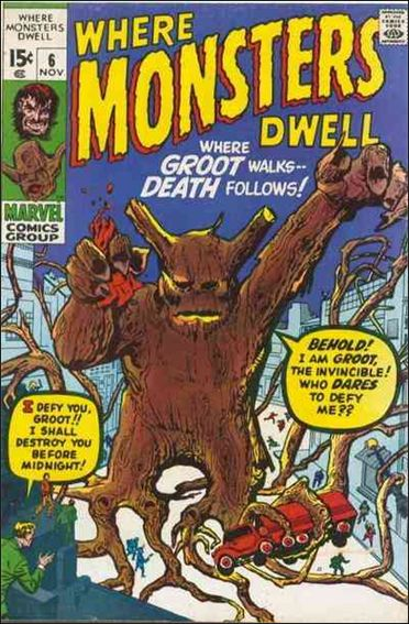 Where Monsters Dwell (1970) 6-A by Marvel