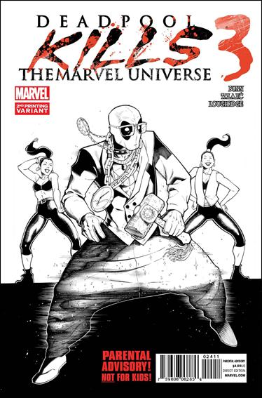 Deadpool Kills the Marvel Universe 3-B by Marvel