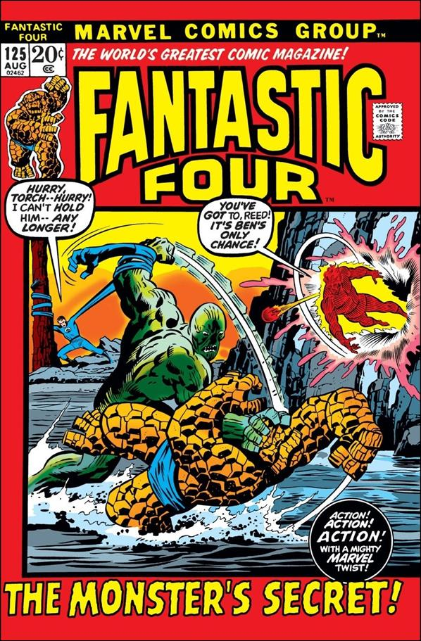Fantastic Four (1961) 125-A by Marvel