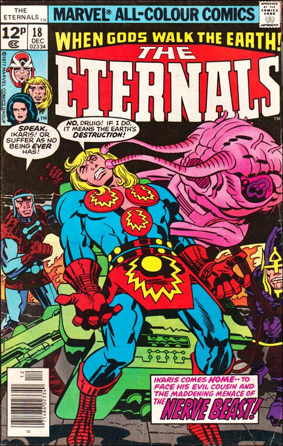 Eternals (1976) 18-B by Marvel