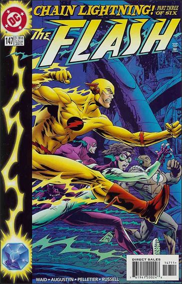 Flash (1987) 147-A by DC