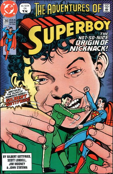 Superboy (1990) 20-A by DC