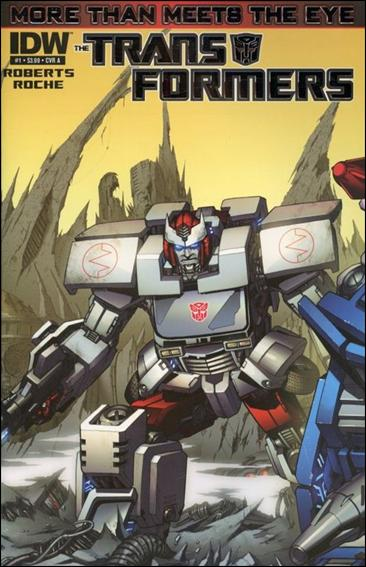 Transformers: More Than Meets the Eye (2012) 1-A by IDW