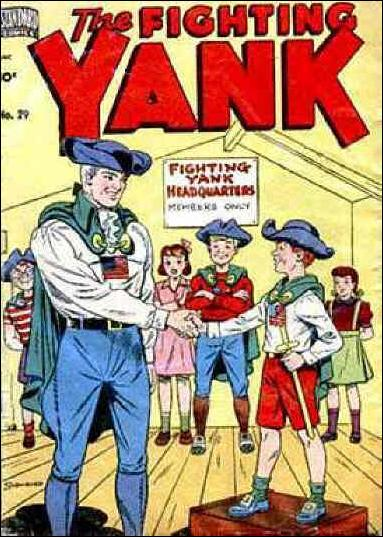 Fighting Yank (1942) 29-A by Nedor
