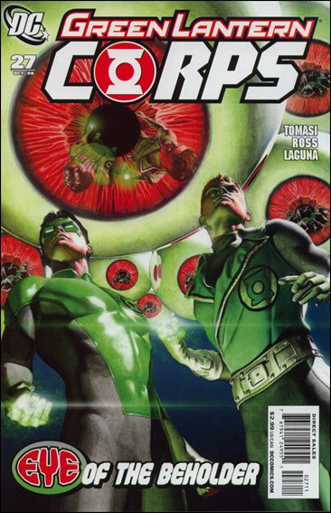 Green Lantern Corps (2006) 27-A by DC