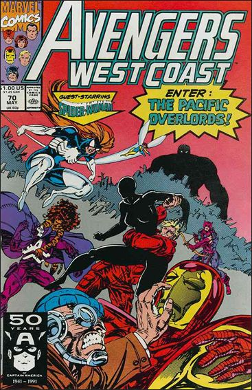 Avengers West Coast 70-A by Marvel