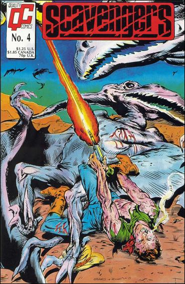 Scavengers (1988) 4-A by Quality Comics