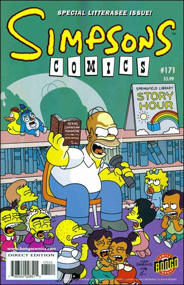 Simpsons Comics 171-A by Bongo
