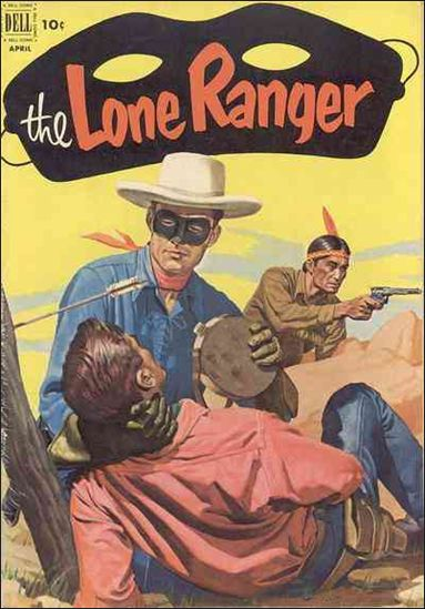 Lone Ranger (1948) 46-A by Dell