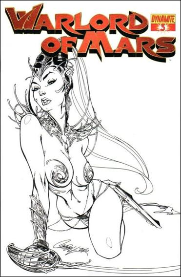 Warlord of Mars 3-E by Dynamite Entertainment