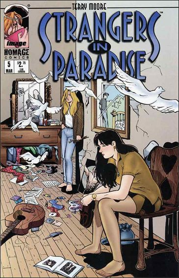 Terry Moore's Strangers in Paradise 5-A by Abstract Studio
