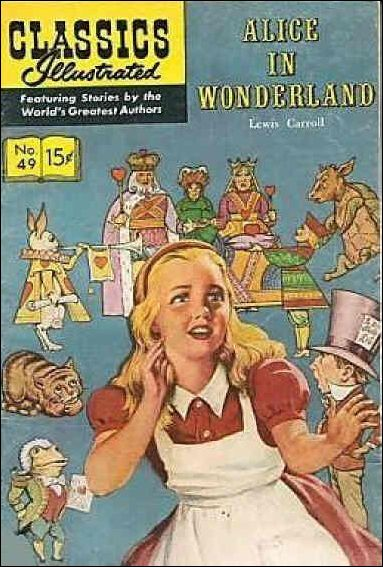 Classic Comics/Classics Illustrated 49-F by Gilberton