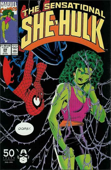 Sensational She-Hulk 29-A by Marvel
