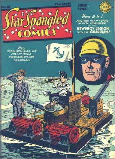 Star Spangled Comics (1941) 21-A by DC