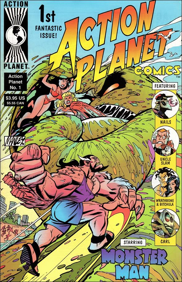 Action Planet Comics 1-A by Action Planet