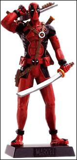 Classic Marvel Figurine Collection (UK) Deadpool by Eaglemoss Publications