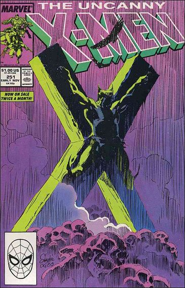 Uncanny X-Men (1981) 251-A by Marvel