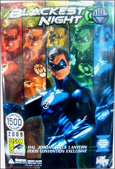 Blackest Night (Exclusives) Hal Jordan: Blue Lantern 1/1500 by DC Direct