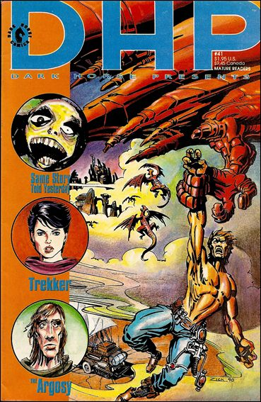 Dark Horse Presents (1986) 41-A by Dark Horse