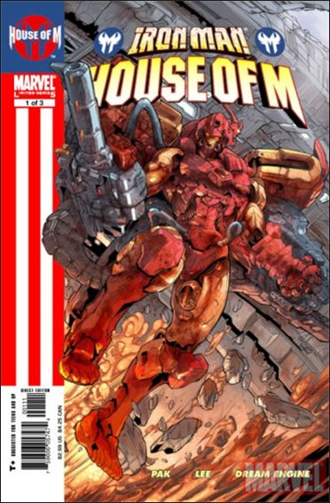 Iron Man House Of M 1 A Sep 2005 Comic Book By Marvel