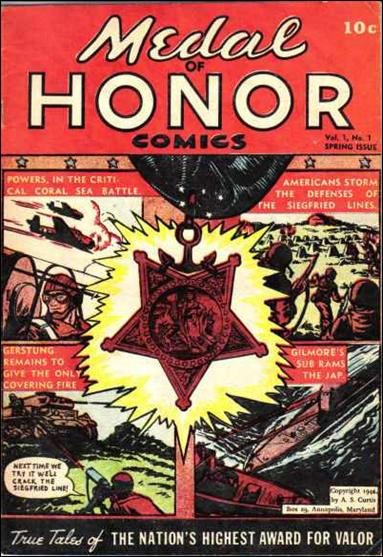 Medal of Honor Comics 1-A by A. S. Curtis