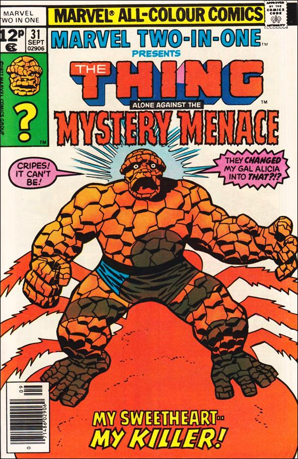 Marvel Two-in-One (1974) 31-C by Marvel