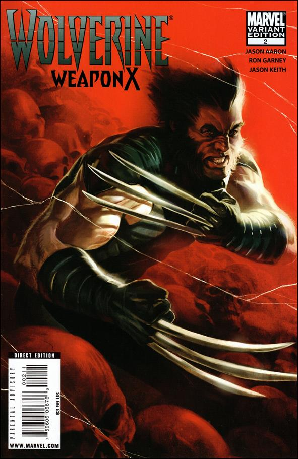 Wolverine: Weapon X 2-B by Marvel