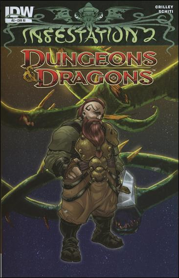 Infestation 2: Dungeons & Dragons 2-B by IDW