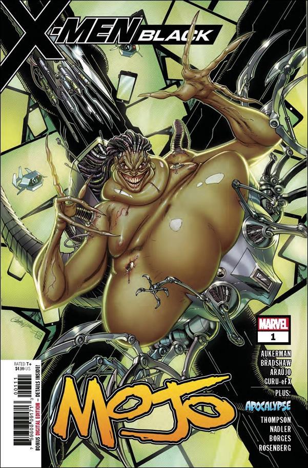X-Men Black: Mojo 1-A by Marvel