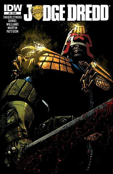 Judge Dredd (2012) 5-A by IDW