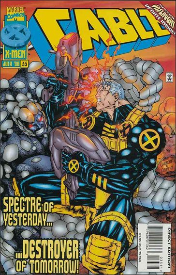 Cable (1993) 33-A by Marvel