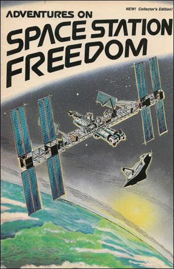Adventures on Space Station Freedom 1 A, Not Known Comic ...
